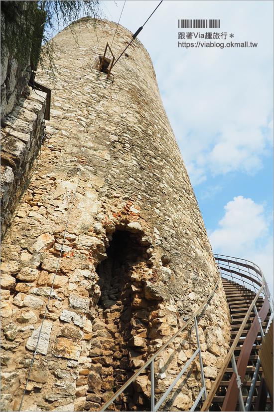 【斯洛伐克旅遊】世界文化遺產景點|中歐最大城堡遺跡好美~Spis Castle斯皮什城堡+Spissky salas餐廳