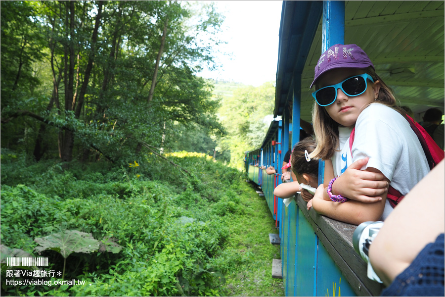 【科希策景點】市郊小旅行~Children's Railway兒童鐵路親子遊&Lookout Tower Košice科希策最高觀景台