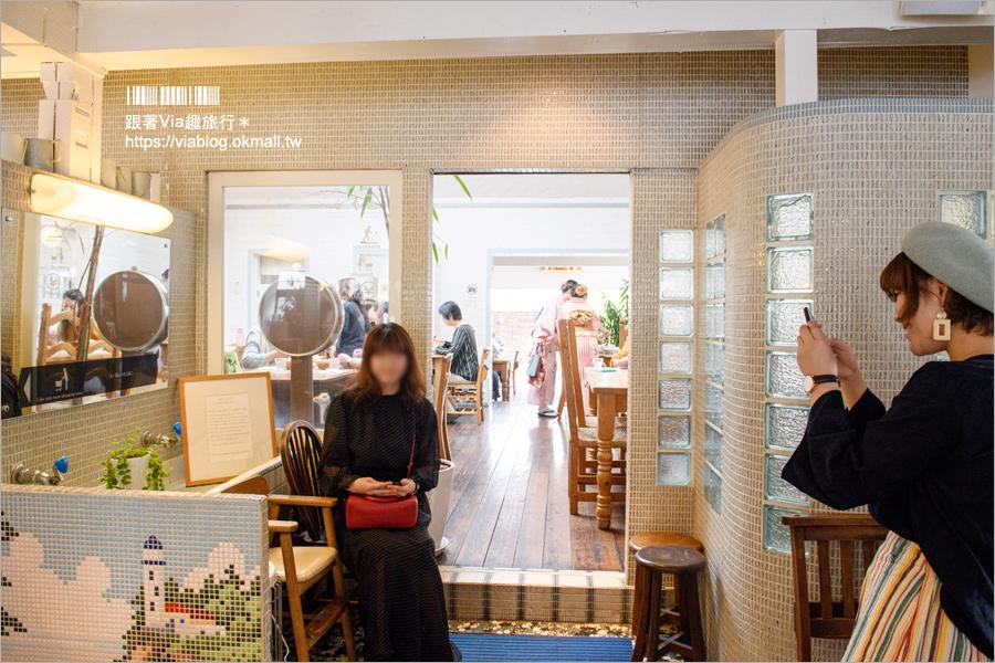 【京都嵐山美食】嵯峨野湯‧舊澡堂改造甜點咖啡館~文青味十足!女子最愛的風格咖啡廳