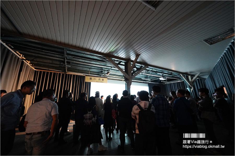 【台中光影藝術節】台中車站~舊站變身彩色光雕好驚奇!限時三天的精彩光雕秀!