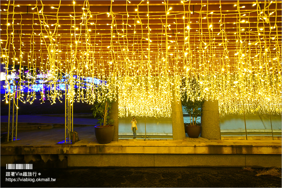 【台中柳川】藝旅綠柳川‧創意藝術光景節~柳川水岸換新裝!全新點燈造景一樣浪漫無比!
