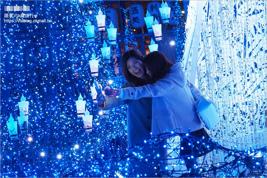 【東京燈光展】汐留Caretta Illumination~必去!最夢幻的點燈場地!浪漫迪士尼燈光音樂秀好精彩!