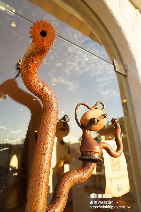 【台中餐廳】貓門餐廳‧Moment~超可愛貓型大門&地中海的童話風新餐廳來囉!(近彩虹眷村)