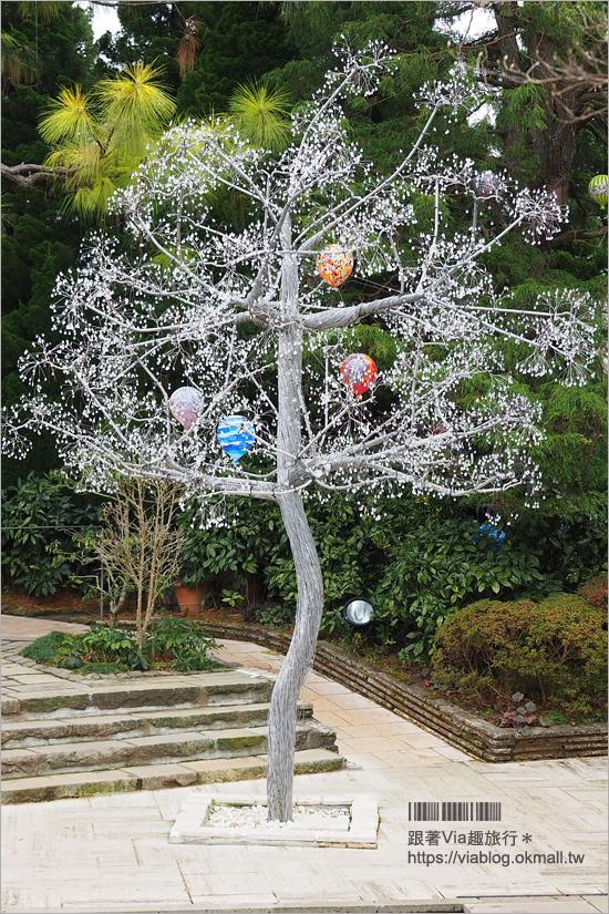 【箱根景點】玻璃之森美術館/ガラスの森美術館~走入歐風莊園的玻璃藝術庭園!