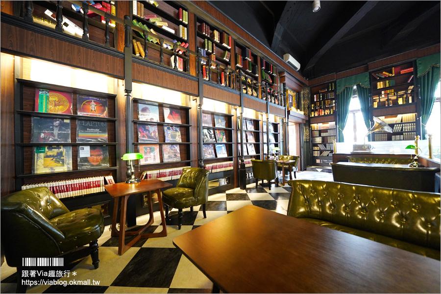 【南投景點】南投稅務出張所‧貓蘿西家族全新登場~台版哈利波特書房咖啡館在這裡!