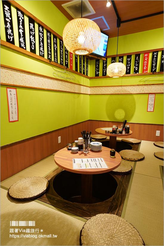 【福岡居酒屋】博多車站附近餐廳~せんべろロケット‧火箭主題創意居酒屋!仙女棒、金魚都上桌超趣味!