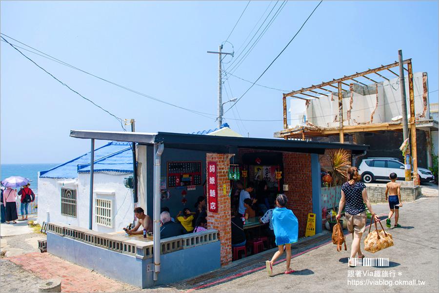 【墾丁萬里桐小吃】萬里桐阿嬤麵店|紅蔥豬油拌麵好好吃~巷子內的饕客必定來報到!