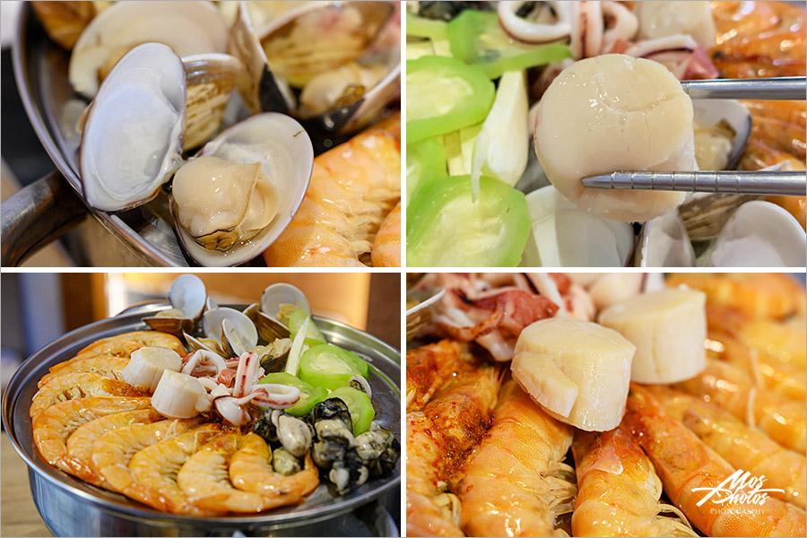 【澎湖在地美食】鮮食堂海鮮蒸鍋|把海裡的原味端上桌~有青才敢大聲的海鮮店!