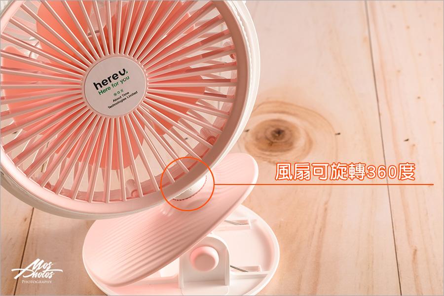 【生活小物推薦】hereu 涼感霧化保濕風扇/360多功能夾式桌式風扇~LUDAVI鑽石水壺~夏季基本款~剁手手必敗良品
