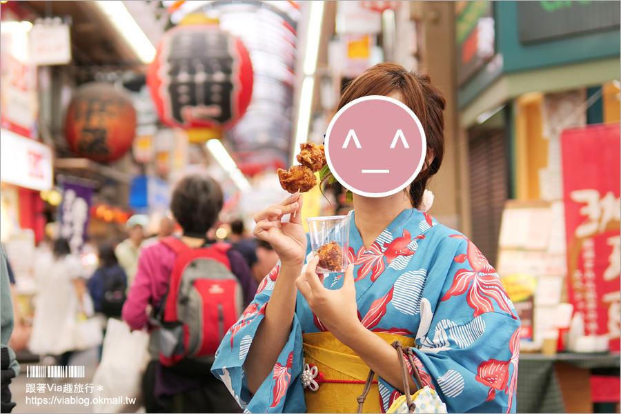 【大阪和服體驗推薦】大阪和服櫻Wafuku Sakura Osaka~近黑門市場地點方便!平價又好看的和服/浴衣體驗館!