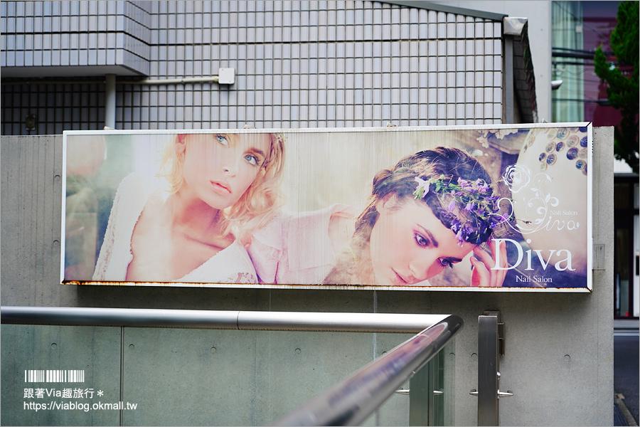 【日本指甲彩繪】Japan-i beauty愛美行APP日本美甲初體驗~東京表參道DIVA美甲店!渲染畫風好美~藝術感一流的美甲店!