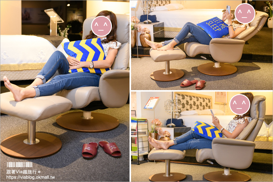 【睡眠王國.春天家居】全台週年慶報到~席夢思二萬有找!床墊推薦、舒適休閒椅、沙發分享就看這篇!