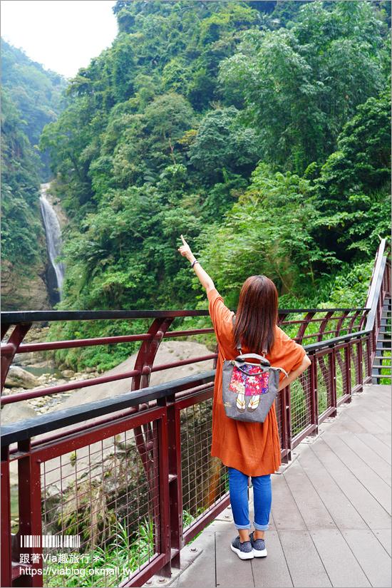 南投景點一日遊》竹山秘境小旅行~茶博廣告拍攝地的隱藏版茶園+探訪私房瀑布吊橋美景趣!