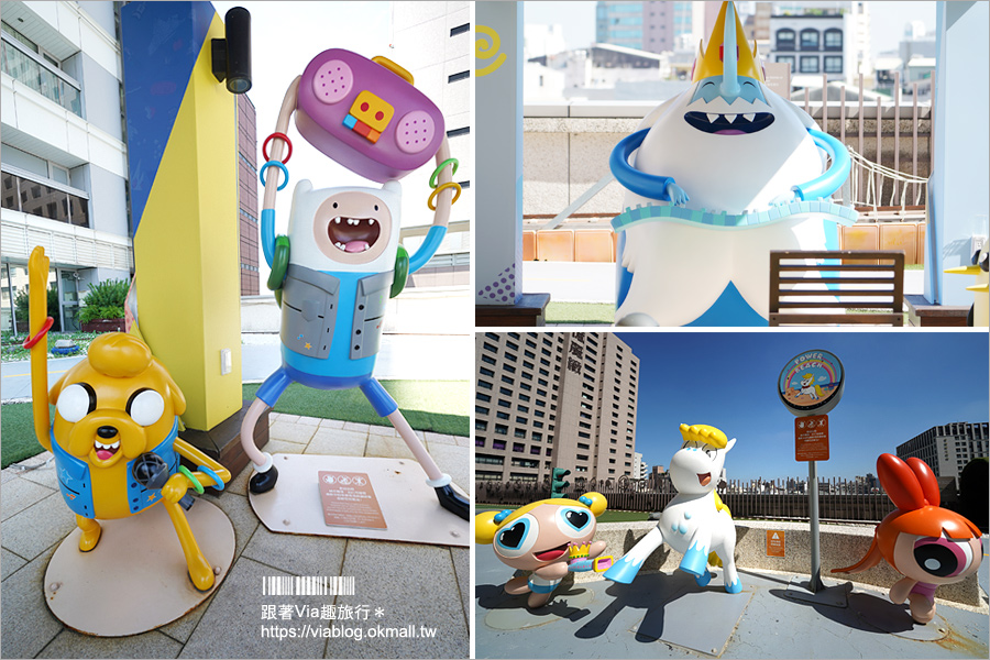 【台南親子飯店】和逸飯店台南西門館~Cartoon Network卡通頻道阿寶、老皮、飛天小女警進駐!室內外雙樂園,孩子玩翻天!