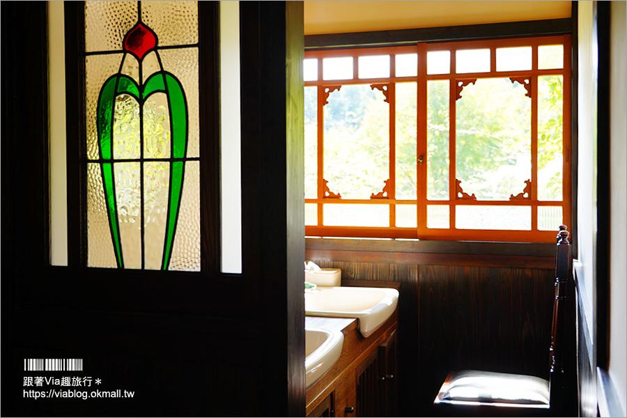 【由布院溫泉推薦】新由布院御三家~二本の葦束/超美森林系露天溫泉!入住獨棟設計型老屋超有特色!
