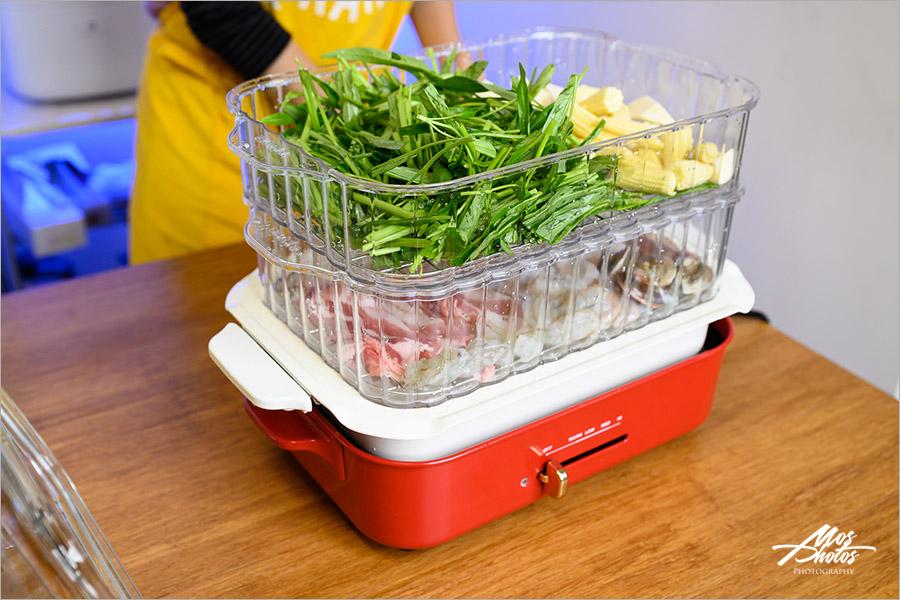 料理好物推薦》BRUNO多功能鑄鐵電烤盤,新色限量款!!一機可多用途,料理超多變化,好收納超方便呦~!