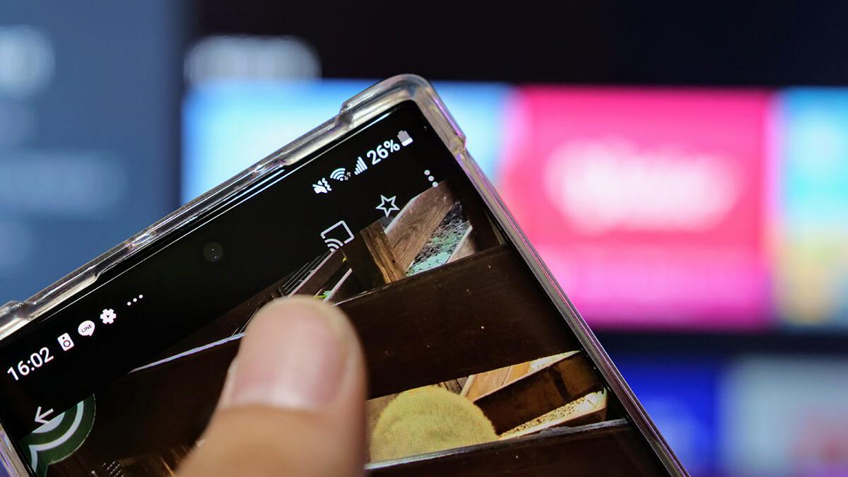 Android電視chromecast手機投影