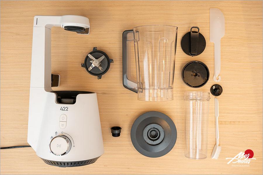 【食物調理機推薦】韓國422inc美型真空破壁調理機~懶人必備小家電,一鍵操作真空抗氧,留住營養!