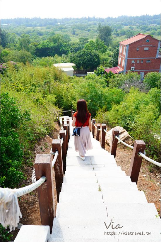 金門景點》珠山聚落~珠山公園,輕鬆登高眺望優美古味聚落趣!
