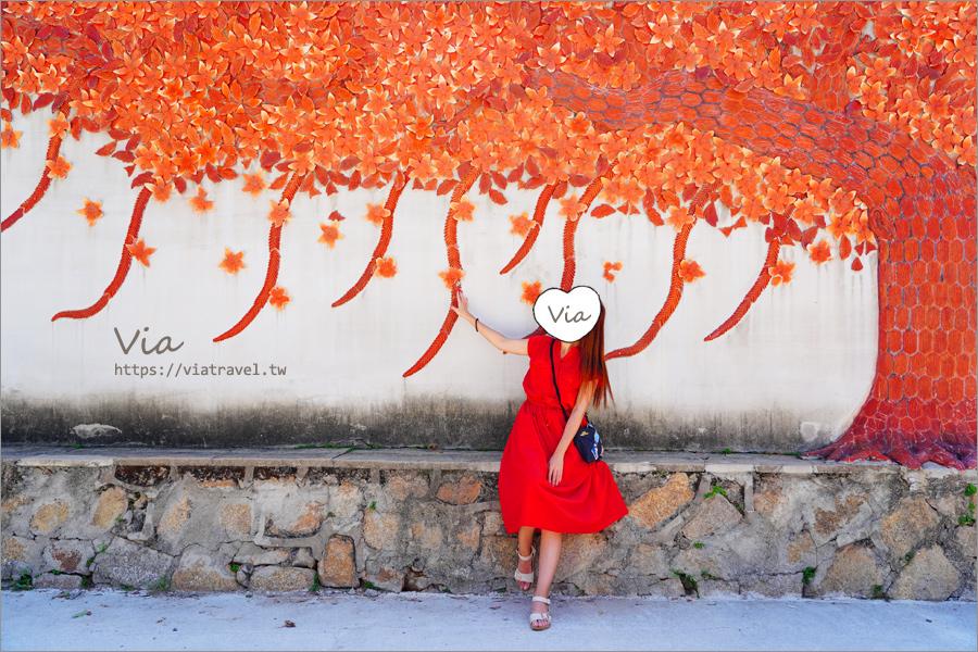 金門風獅爺》瓊林聚落~來瓊林尋超美紅磚樹牆及必訪人氣風獅爺趣!