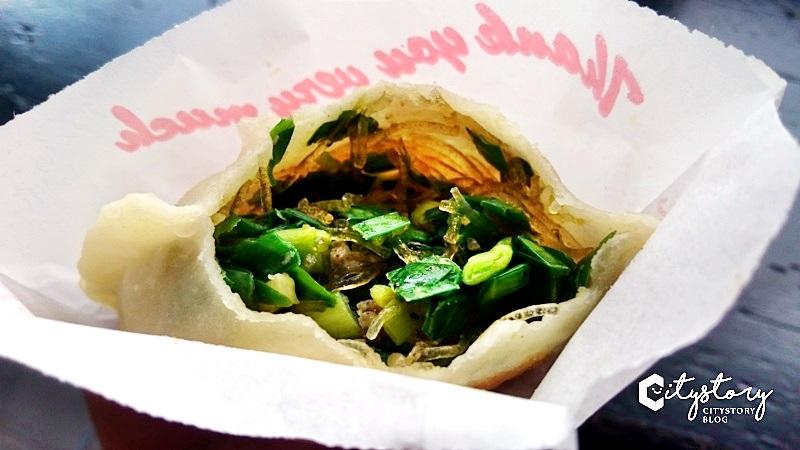 【草屯蔥大餅】廷廷蔥大餅-愛的好滋味,吃過愛上爆多蔥午茶點心
