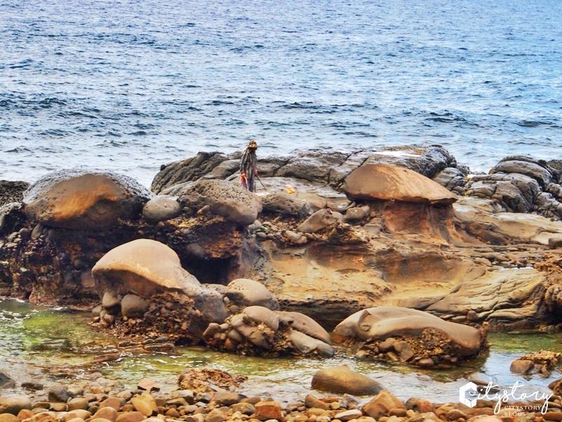 【墾丁景點】佳樂水風景區~海角天邊樂園,搭遊園車觀浪花奇石