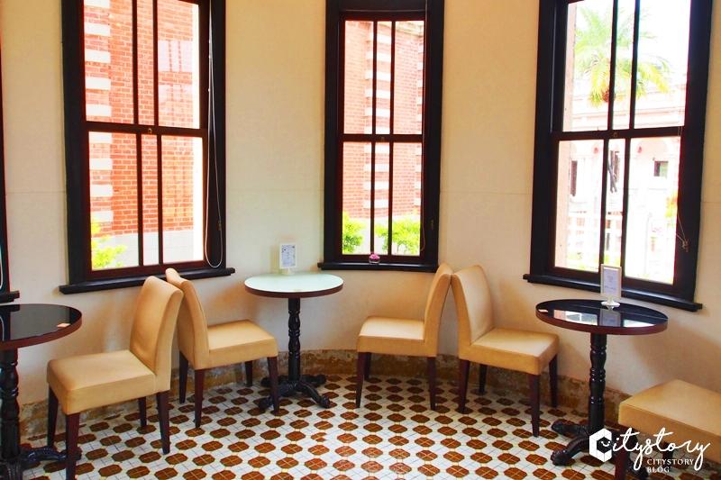 【台中景點】一德洋樓~橘紅房舍紅磚老屋,蛋糕咖啡館-獨立書店喜氣好運連連
