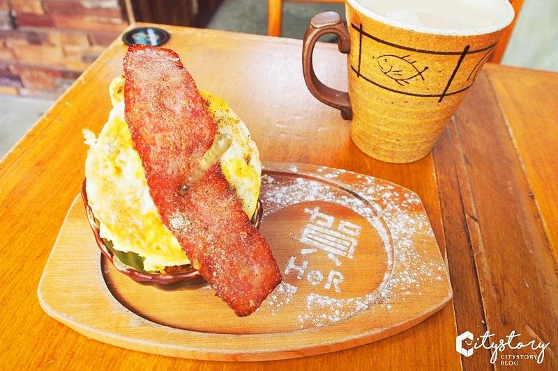 【墾丁必吃美食】賀HeR巷內食間~扎實甜蜜烤饅頭-超隱密小巷弄早午餐