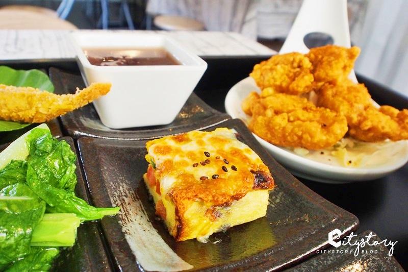 【台中潭子美食】ㄚㄚ販店 & ㄚㄚ Lunch Box~粉紅貨櫃屋九宮格便當,精緻美味簡餐店