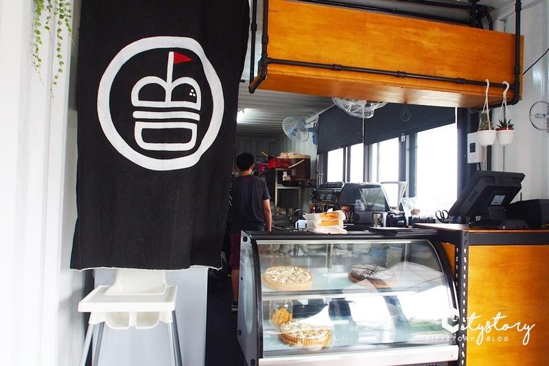【草屯早午餐】B1brekky~藍色貨櫃屋澳洲早午餐,工業極簡風咖啡廳