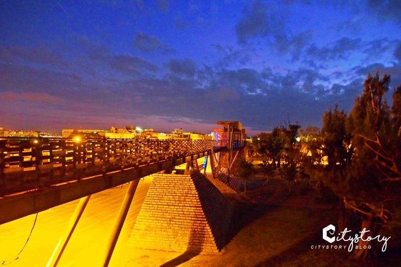 【屏東景點】恆春古城漂浮城牆~南門旁最美老城牆,國中超場旁日夜都好拍