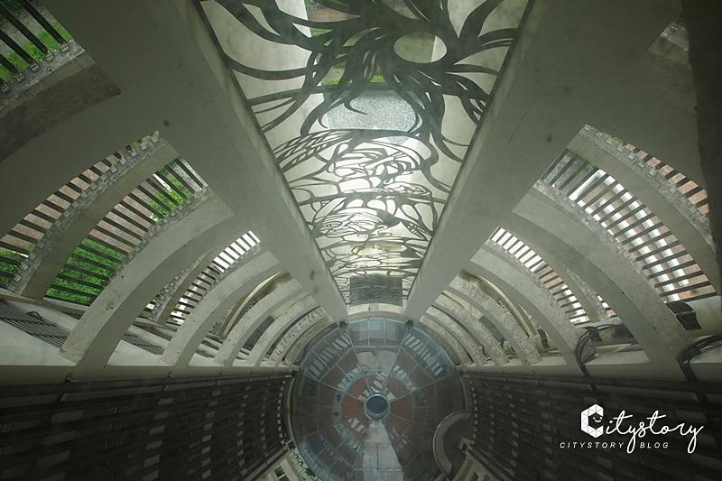 【嘉義景點】嘉義公園射日塔~市區最高景館咖啡屋,俯瞰嘉義市最佳景